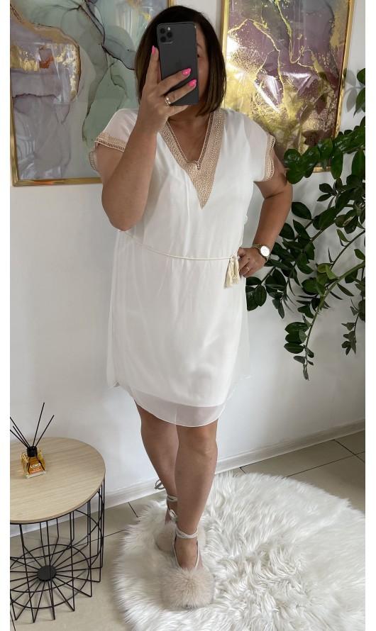 Sukienka Rouen White