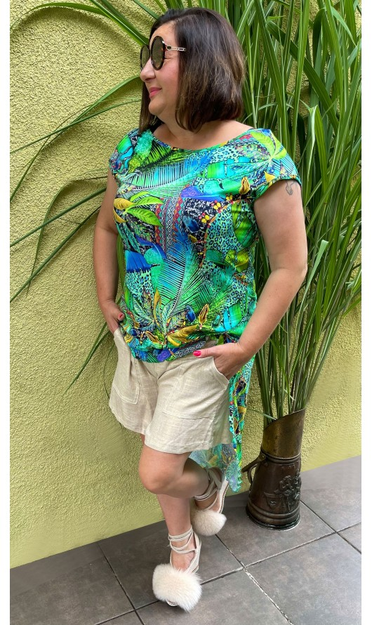 Bluzka Maxi Tropical TAFFI...