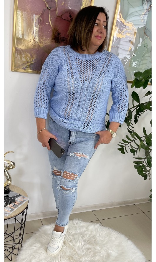 Sweter Ninna Baby Blue