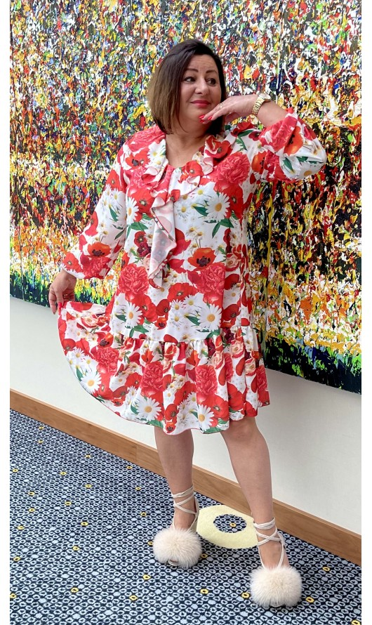 Sukienka Canava Red PREMIUM