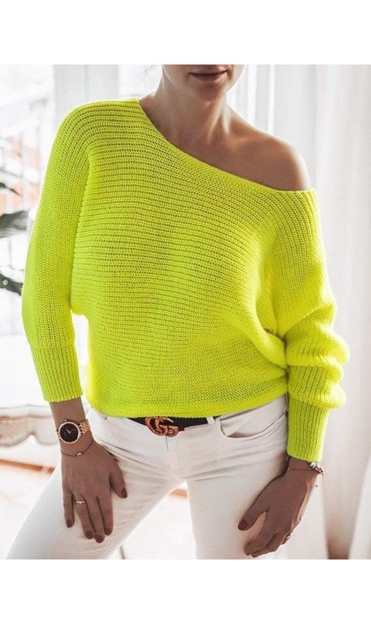 Sweter Austin Neon Yellow