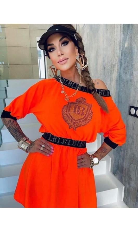 Sukienka Tami Neon Orange